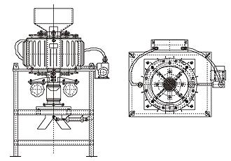 DCZ型电磁干粉自动磁选机