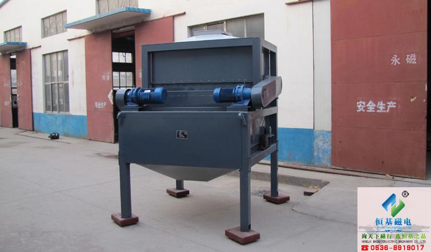 DHJ型强辊干式磁选机