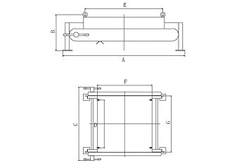 RCYP型永磁手动自卸式除铁器