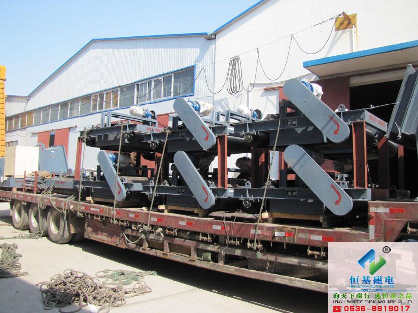 RCYD型永磁自卸式除铁器