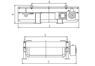 RCYE型永磁自卸式除铁器