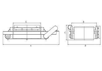 RCDF型油冷自卸式电磁除铁器