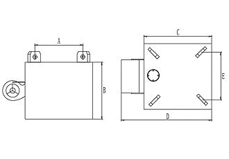 RCDA型风冷式电磁除铁器