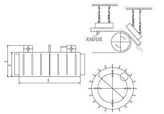 RCDB型自冷盘式电磁除铁器