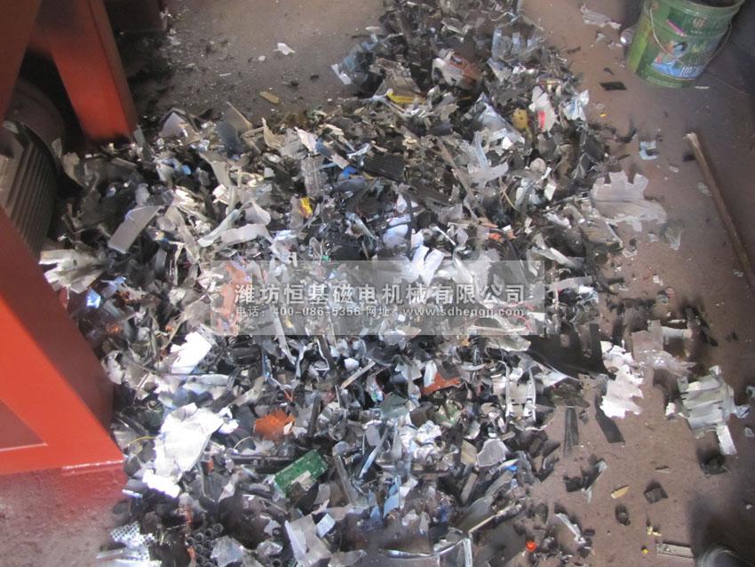 塑料管材撕碎机